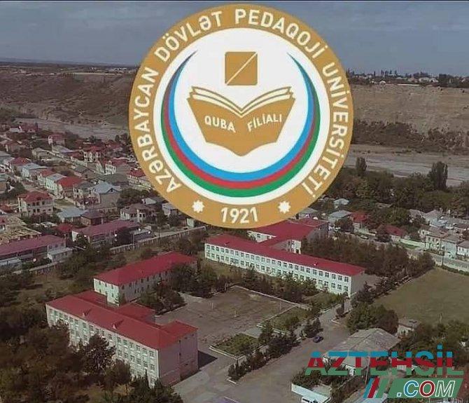 Şimal bölgəsində yeganə ali təhsil müəssisəsi olan ADPU-nun Quba filialı 30 illik fəaliyyəti dövründə uğurlu pedaqoji kadr hazırlığı həyata keçirmişdi.