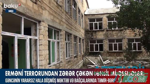Erməni terrorundan zərər çəkən təhsil müəssisələri – VİDEO