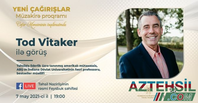 """Liderlik üzrə tanınmış amerikalı mütəxəssis """"Yeni Çağırışlar""""da"""