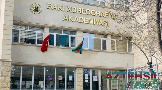 Bakı Xoreoqrafiya Akademiyasının ümumi təhsil pilləsinə elektron sənəd qəbulu davam edir
