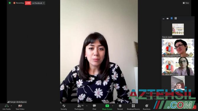 """""""Muzeylər və Nizami irsi"""" adlı virtual Beynəlxalq proqrama start verilib"""