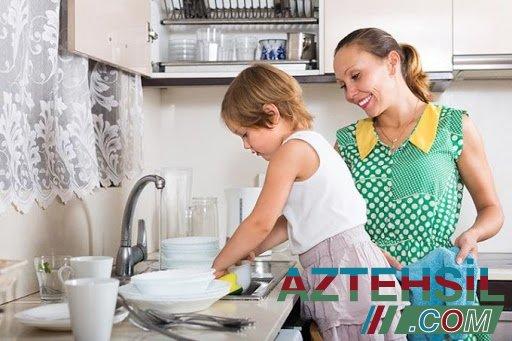 Uşaqlar ev işləri görməlidirmi ?