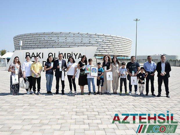 AFFA uşaqlar üçün AVRO-2020-nin oyunlarına bilet hədiyyə edib