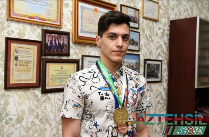 ADNSU-nun paralimpiyaçı tələbəsinin hədəfi Olimpiya birincisi olmaqdır