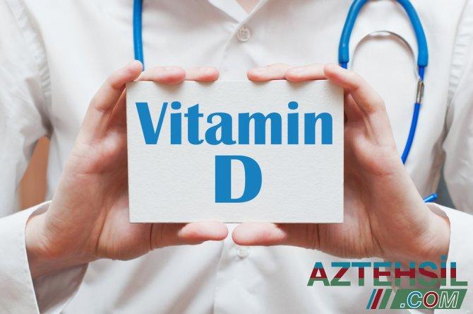 D vitamini orqanizmə nə üçün lazımdır?