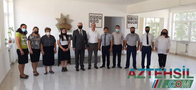 Kiçik ürəklərdə böyük qəhrəmanlar-Foto /Video
