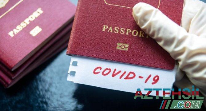 Bu halda COVID pasportunun əvəzinə arayış veriləcək - RƏSMİ