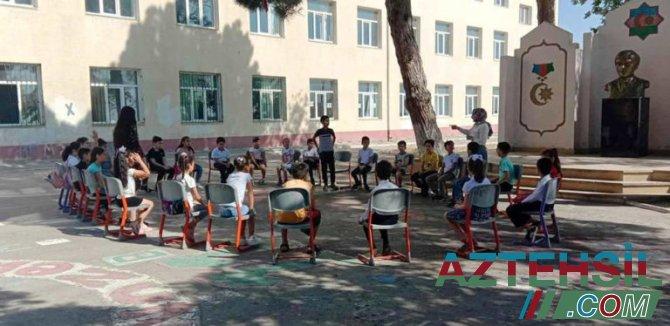 """Paytaxt üzrə 308 məktəbdə """"Yay məktəbi"""" təşkil olunub"""
