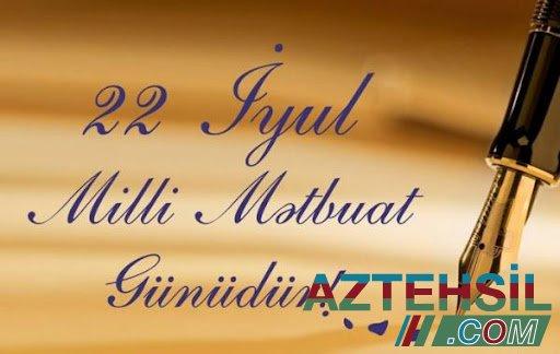 Bu gün Azərbaycan Milli Mətbuatının yaranmasından 146 il ötür.