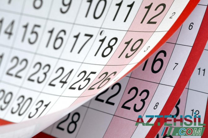 Bu gündən dörd günlük bayram tətili başlayır