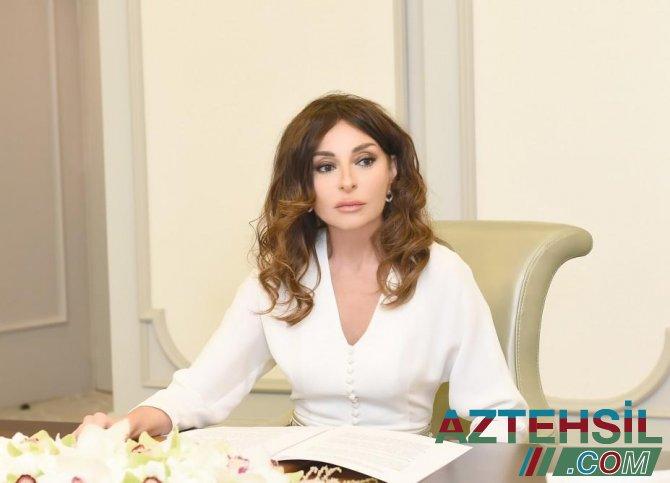 Mehriban Əliyeva Qurban bayramı münasibətilə Azərbaycan xalqını təbrik etdi