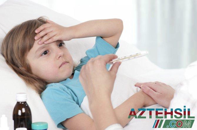 Azərbaycanda uşaqlar arasında yayılan infeksiya haqda AÇIQLAMA