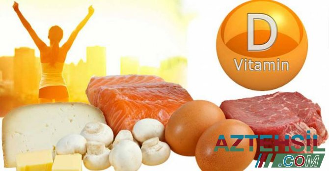 Yaddaşsızlığın dərmanı vitamin D