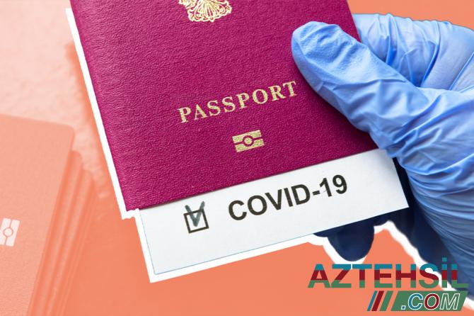 Sentyabrın 1-dən vətəndaşlardan harada COVID-19 pasportu tələb olunacaq?