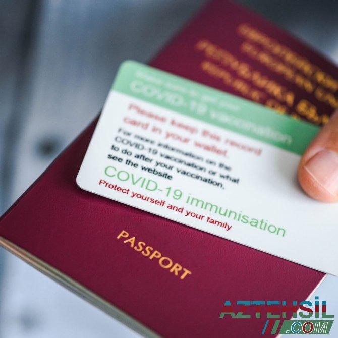 COVID-19 pasportuyla bağlı daha bir tələb qüvvəyə mindi
